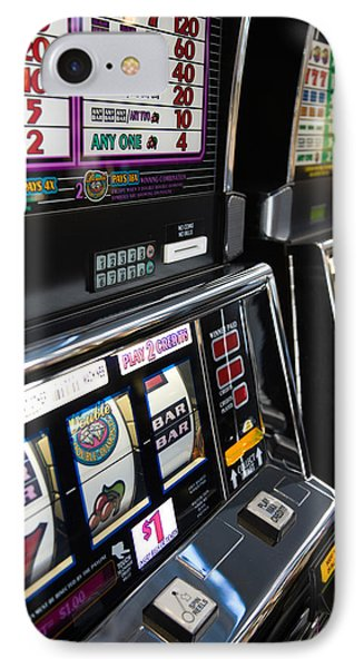 Slot Machines At An Airport, Mccarran IPhone Case