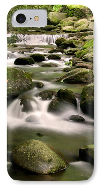Smoky Mountain Stream IPhone Case by Cindy Haggerty