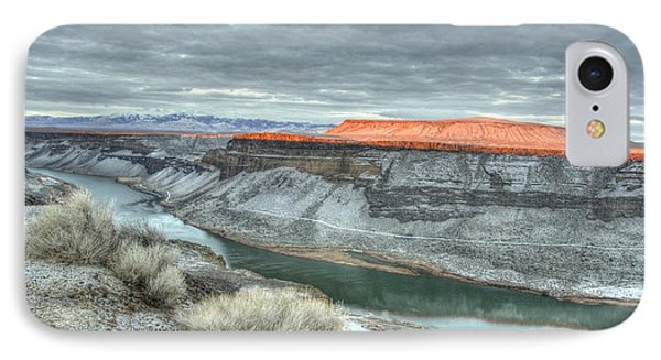 Snake River Canyon  IPhone Case
