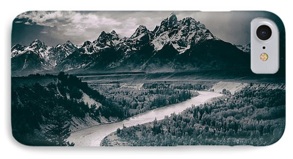 Snake River In The Tetons - 1930s IPhone Case
