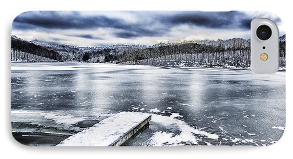 Snow Big Ditch Lake IPhone Case