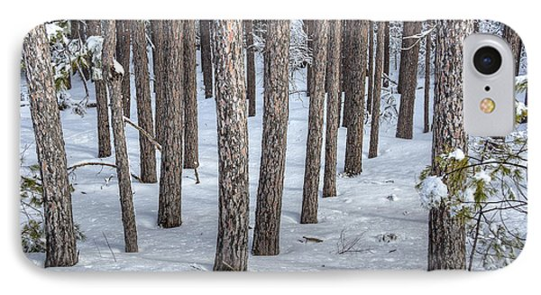 Snowy Woods Phone Case by Donna Doherty