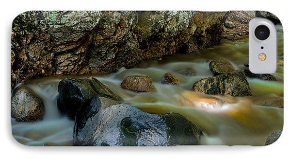 Softly Flowing Brook IPhone Case by Tim Reaves