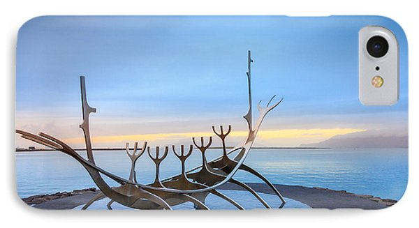 Solfar Sun Voyager IPhone Case by Alexey Stiop