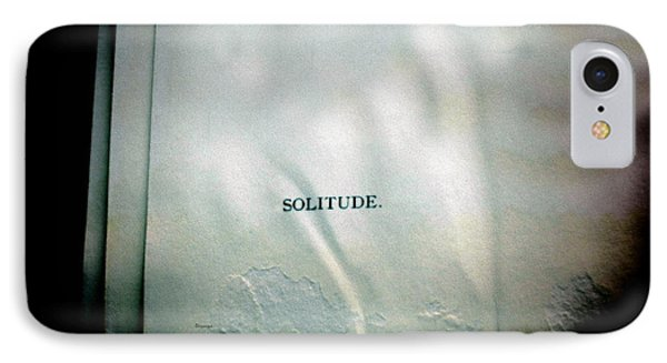 Solitude.  Phone Case by Steven Digman