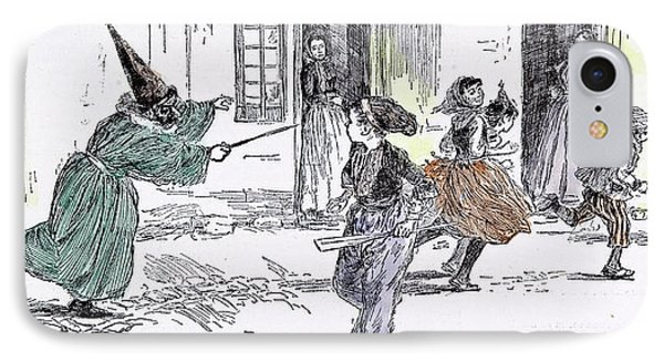 Some Dresses At The Childrens Carnival In 1892 Fancy Dress IPhone Case by English School