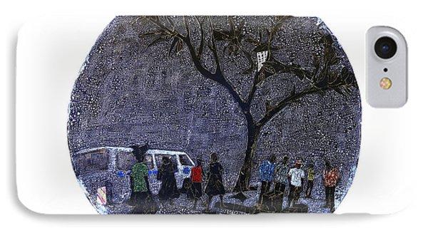 Some Walk Home IPhone Case by Ronex Ahimbisibwe