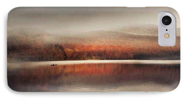 Sound Of Silence IPhone Case by Magda  Bognar
