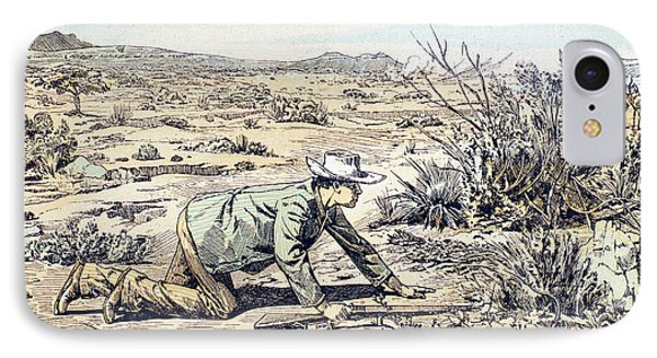 South Africa Hunter, 1891 IPhone Case by Granger
