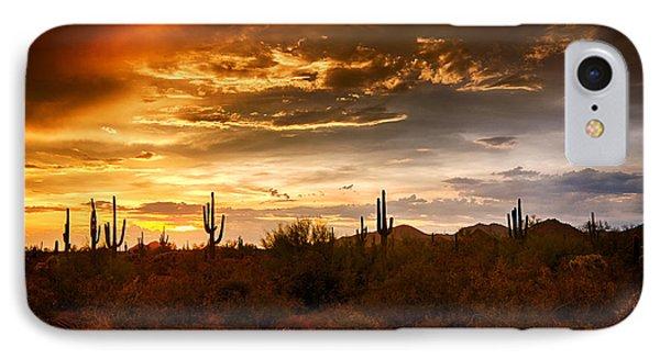 Southwestern Skies  Phone Case by Saija  Lehtonen