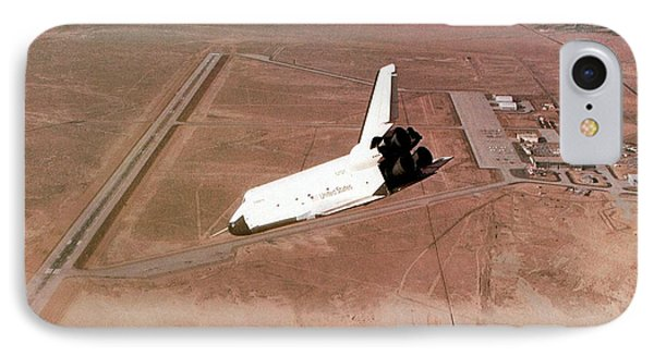 Space Shuttle Prototype Testing IPhone Case
