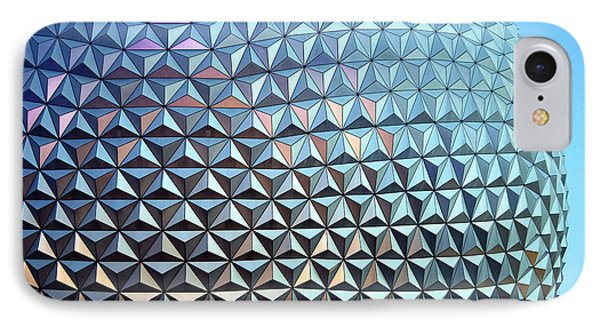 Spaceship Earth IPhone Case by Cora Wandel