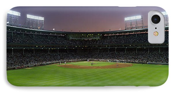 Spectators Watching A Baseball Match IPhone Case by Panoramic Images