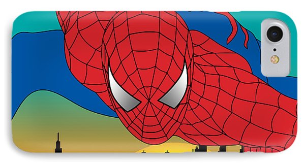 Spiderman  Phone Case by Mark Ashkenazi