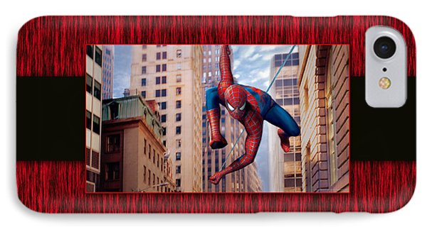 Spiderman IPhone Case by Marvin Blaine