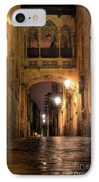 Spirit Of Gaudi IPhone Case by Erhan OZBIYIK