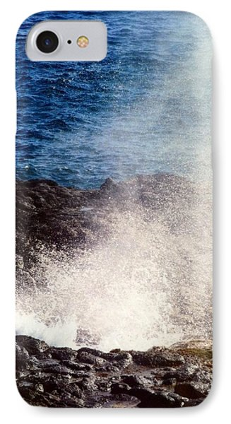 IPhone Case featuring the photograph Spouting Horn by Alohi Fujimoto