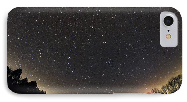 Spring Constellations And Star Colors IPhone Case by John Chumack