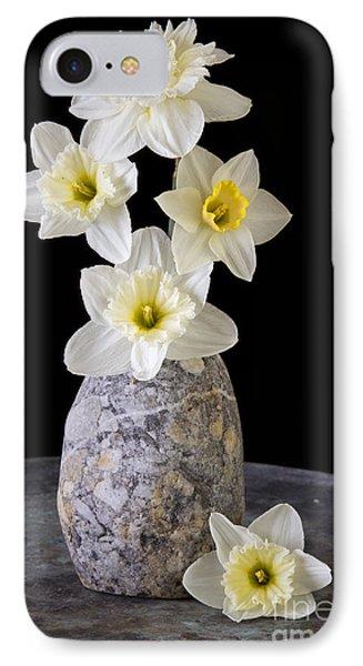 Spring Daffodils Phone Case by Edward Fielding
