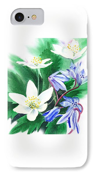 Spring Flowers IPhone Case by Irina Sztukowski
