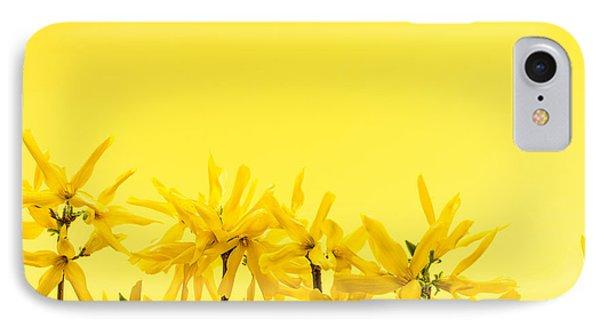 Spring Yellow Forsythia  Phone Case by Elena Elisseeva