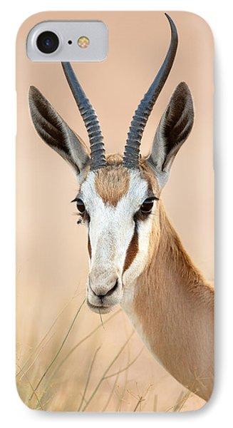 Springbok Portrait IPhone Case
