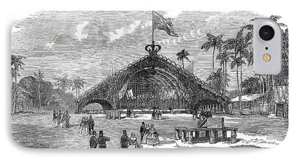 Sri Lanka Railway, 1858 IPhone Case by Granger