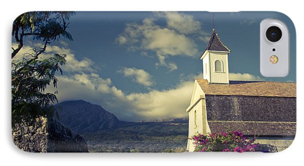 St. Joseph Catholic Church Kaupo Maui Hawaii IPhone Case by Sharon Mau