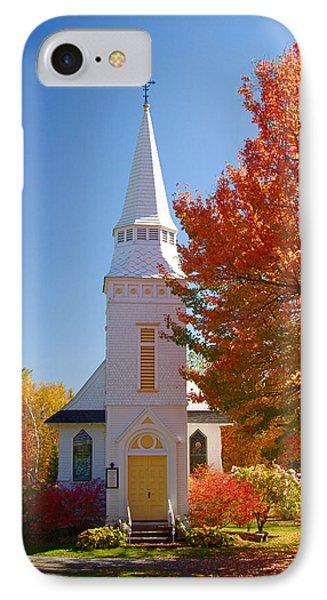 St Matthew's In Autumn Splendor IPhone Case by Jeff Folger
