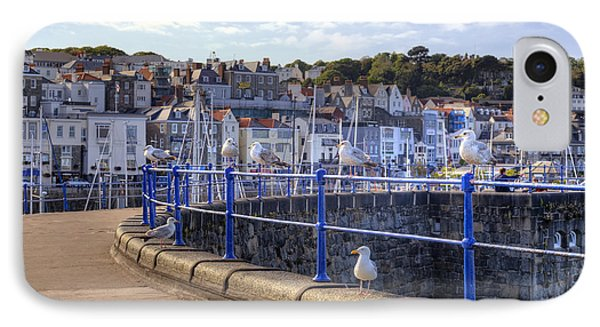 St Peter Port - Guernsey IPhone Case by Joana Kruse