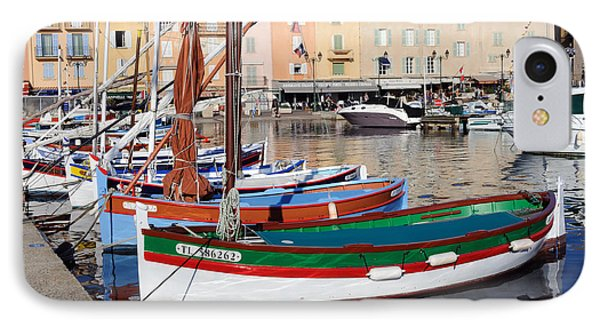 IPhone Case featuring the photograph St. Tropez - France by Haleh Mahbod
