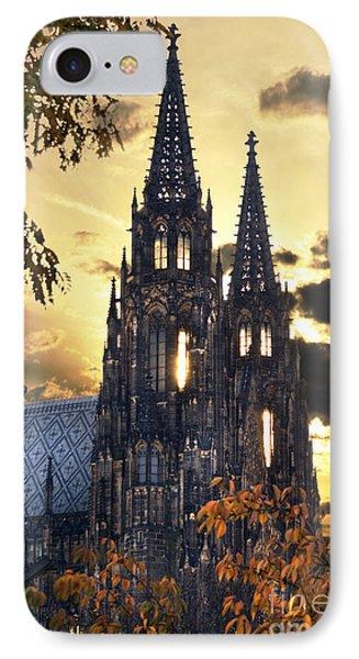 St Vitus Church In Hradcany Prague IPhone Case