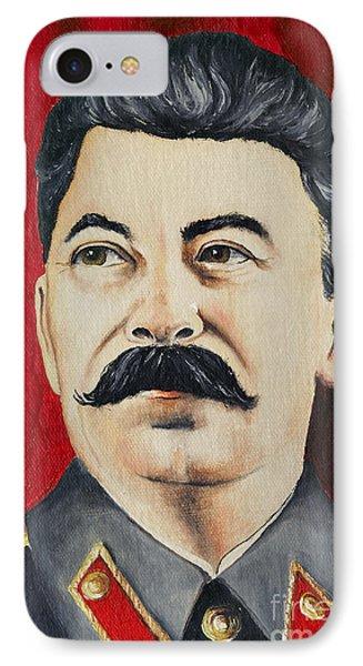 Stalin Phone Case by Michal Boubin