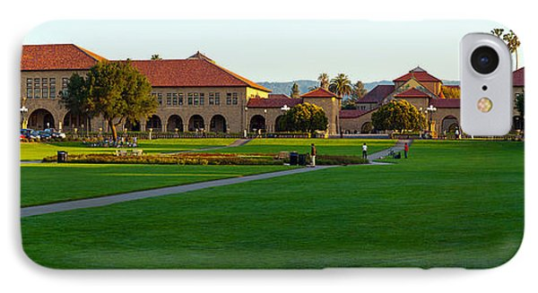 Stanford University Campus, Palo Alto IPhone Case by Panoramic Images