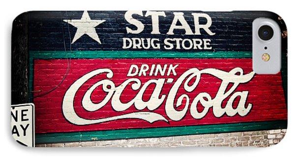 Star Drug Store Wall Sign Phone Case by Scott Pellegrin
