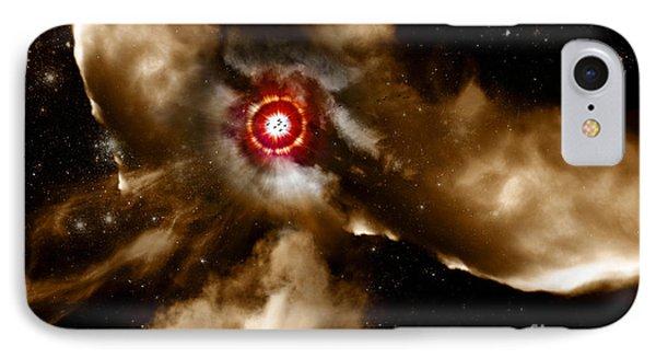 Star Dust Of Supernova IPhone Case