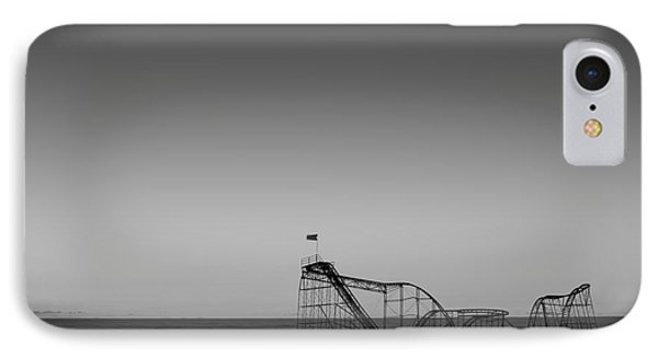 Star Jet Roller Coaster Hdr Phone Case by Michael Ver Sprill