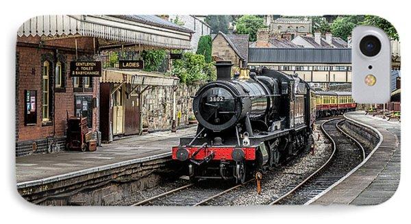 Steam Train IPhone Case by Adrian Evans