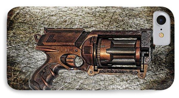 Steampunk - Gun - The Multiblaster Phone Case by Paul Ward