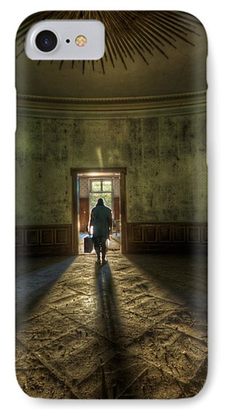 Step Into The Light IPhone Case by Nathan Wright