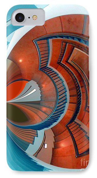 IPhone Case featuring the digital art Step by Nico Bielow