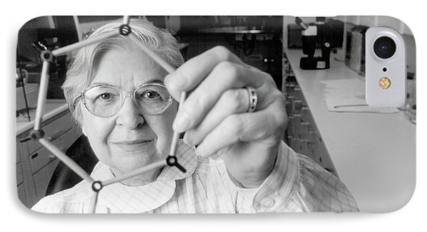 Stephanie Kwolek IPhone Case by Hagley Museum And Archive