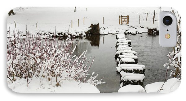 Stepping Stones Across A River IPhone Case