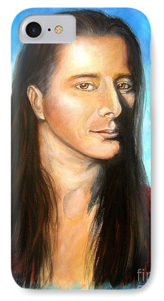 Steve Perry IPhone Case by Patrice Torrillo