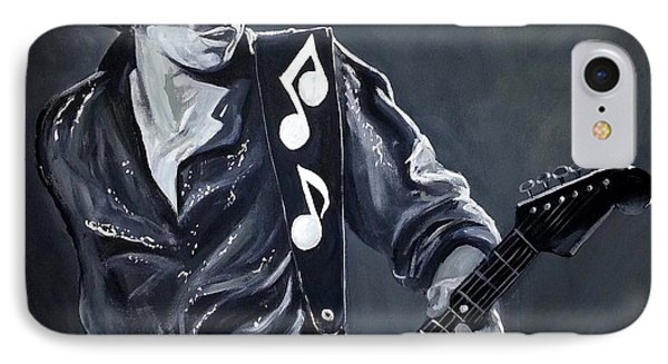 Stevie Ray Vaughan IPhone Case by Tom Carlton