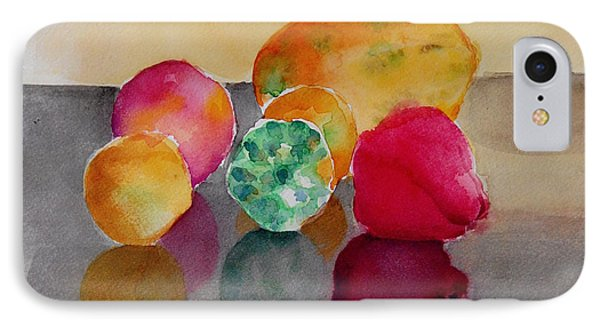 IPhone Case featuring the painting Still Life Fruits by Geeta Biswas