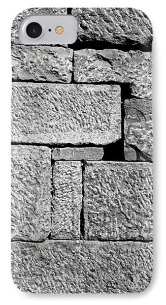 Stone Brick Wall Phone Case by Jagdish Agarwal