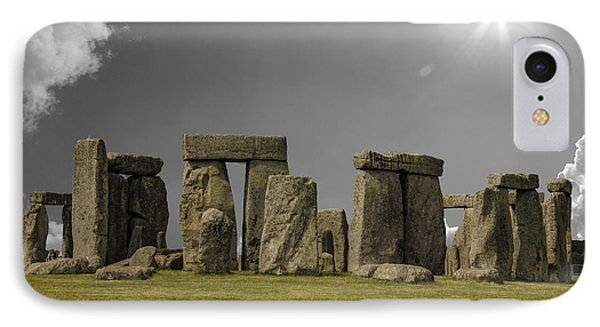 Stonehenge IPhone Case by Martin Newman