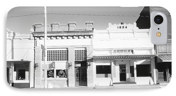 Store Fronts, Main Street, Small Town IPhone Case by Panoramic Images