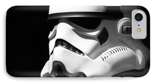 Stormtrooper IPhone Case by Chris Thomas